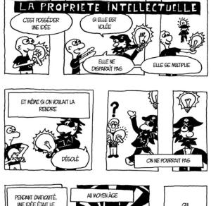""""""" A l'abordage """" Une Bd sympa sur """" la propriété intellectuelle"""""""