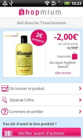 «Achetez, scannez… c'est remboursé» Shopmium arrive surAndroid
