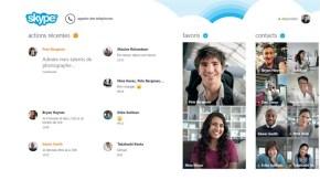 Comment installer Skype sous Windows 8 , en mode Bureau.