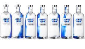 Absolut originality : Absolut Vodka arrive avec de nouveaux design.