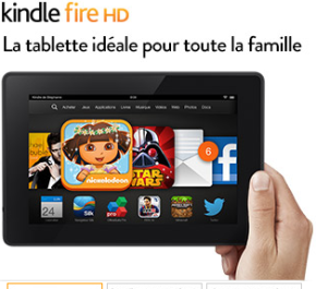 60€ de réduction sur Kindle Fire HD #promo